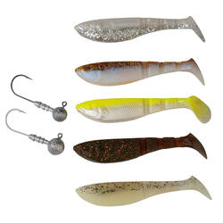Set softbaits Pro 4 Play Shad 8,5 cm