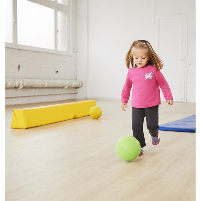 Chándal 120 gimnasia infantil estampado verde Warm'y Zip