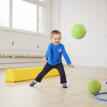 Survêtement chaud zippé imprimé Gym baby Warm'y Zip - 1102454