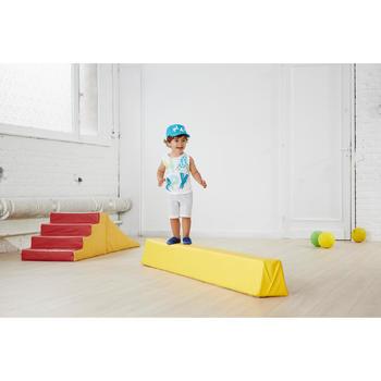 Gym pet met print voor peuters blauw