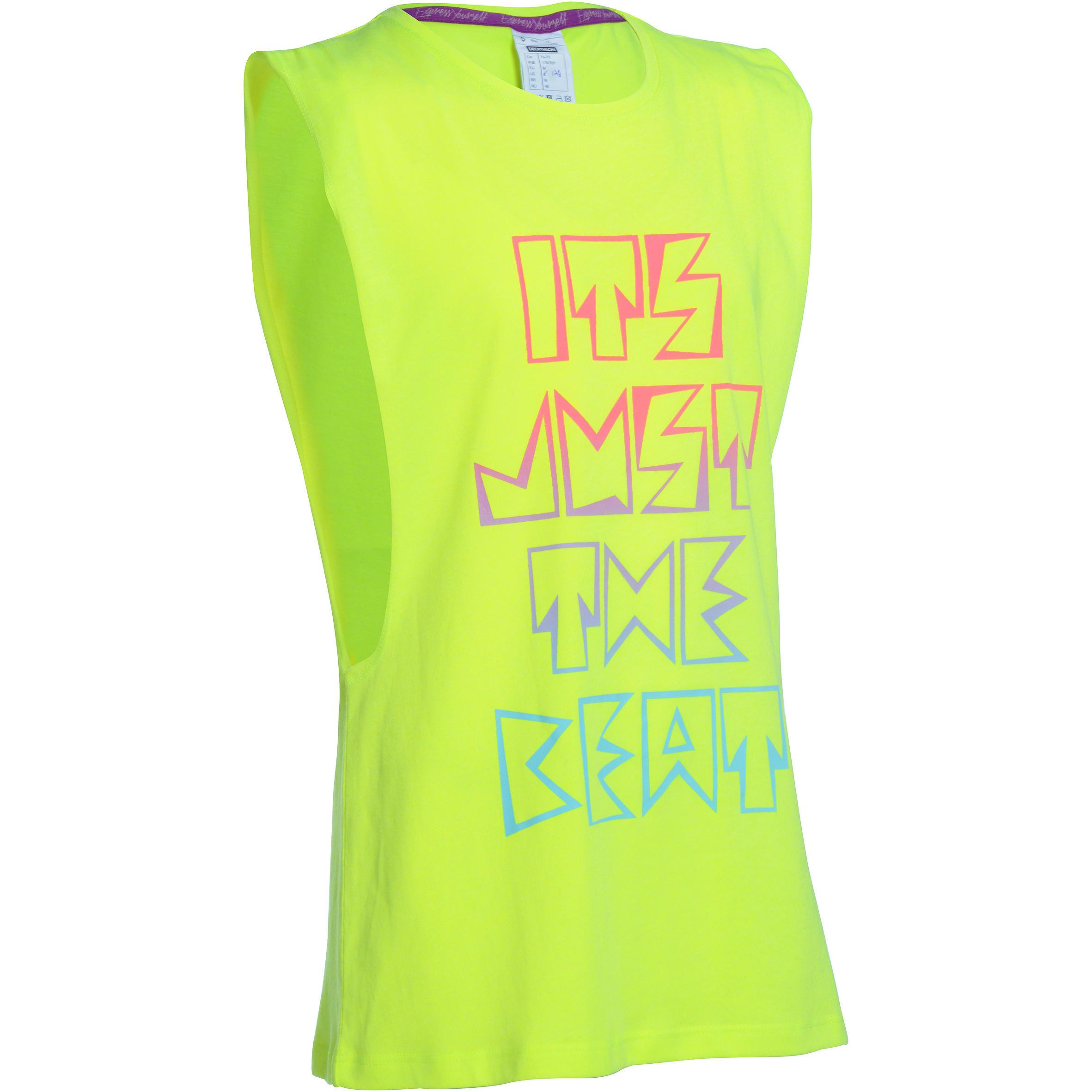 Domyos Meisjes T-shirt met opening opzij thumbnail