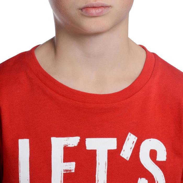 T-Shirt manches courtes 100 Gym garçon imprimé - 1102651