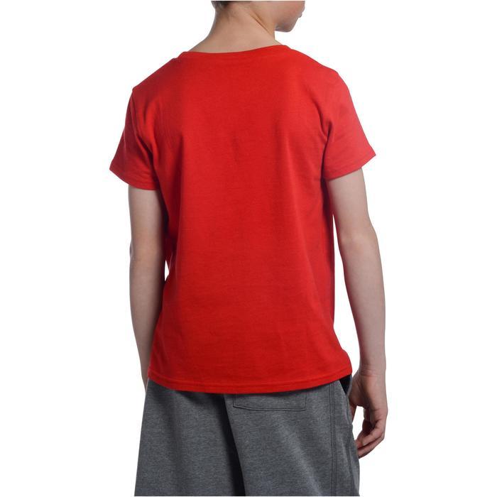 T-Shirt manches courtes 100 Gym garçon imprimé - 1102741