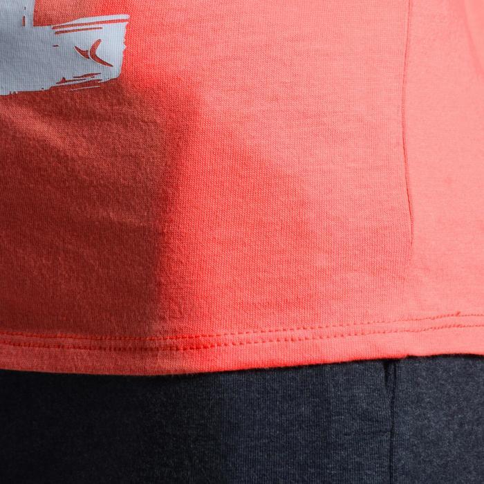 T-Shirt manches courtes 100 Gym fille imprimé - 1102836