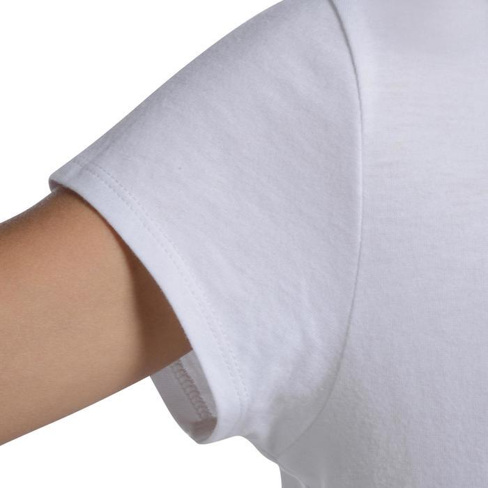 T-Shirt manches courtes 100 Gym fille imprimé - 1102856