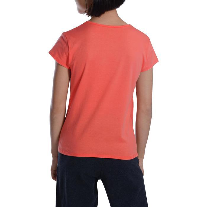 T-Shirt manches courtes 100 Gym fille imprimé - 1102861