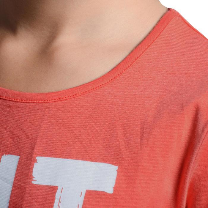 T-Shirt manches courtes 100 Gym fille imprimé - 1102909