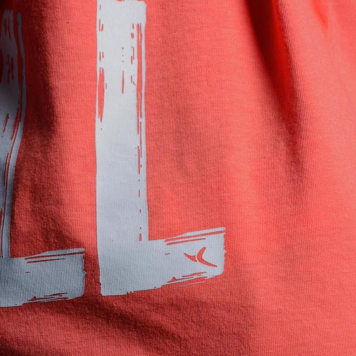 T-Shirt manches courtes 100 Gym fille imprimé - 1102989