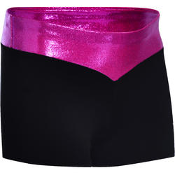 Turnbroekje voor meisjes (toestelturnen en RG) glitterstof