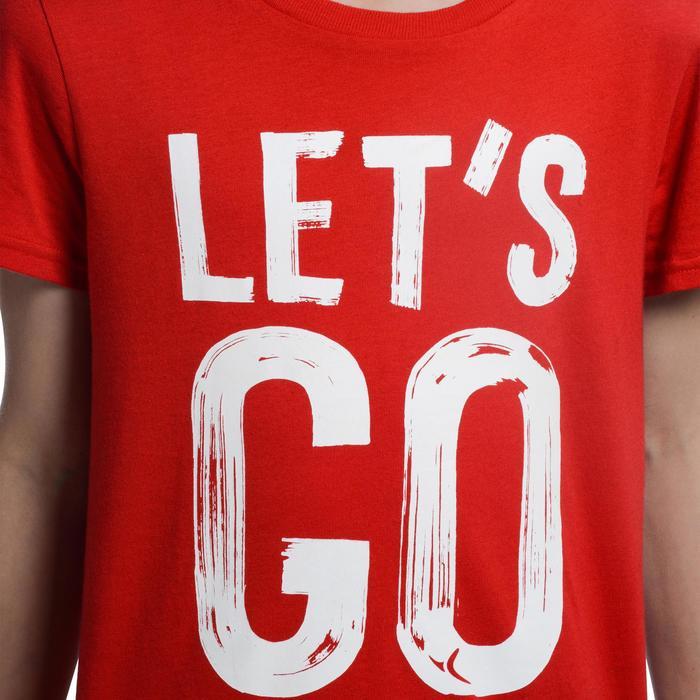 T-Shirt manches courtes 100 Gym garçon imprimé - 1103029