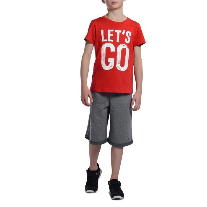 T-Shirt manches courtes 100 Gym garçon imprimé - 1103031