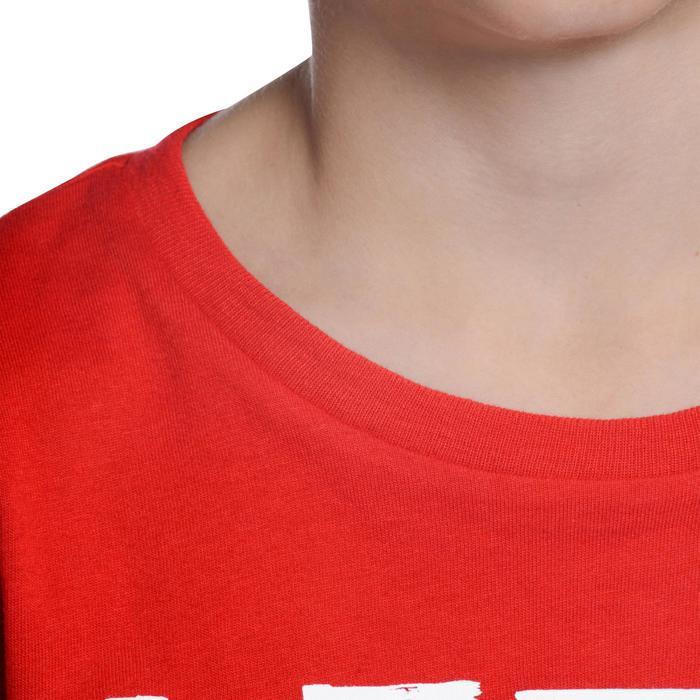 T-Shirt manches courtes 100 Gym garçon imprimé - 1103045