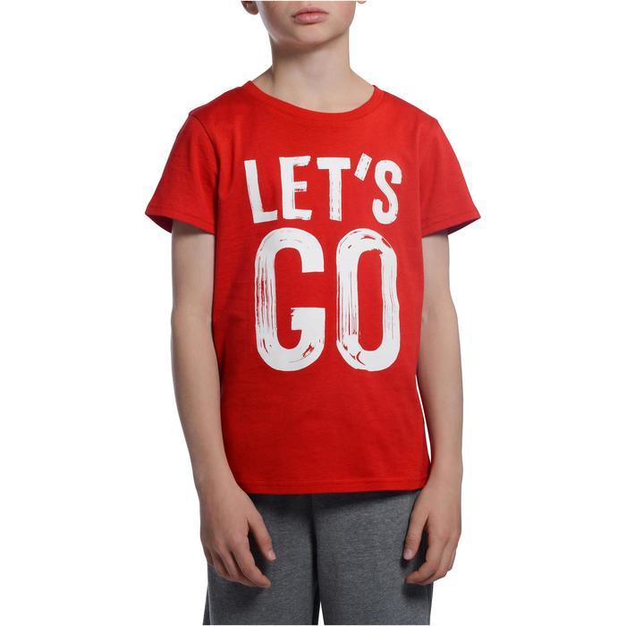 T-Shirt manches courtes 100 Gym garçon imprimé - 1103144
