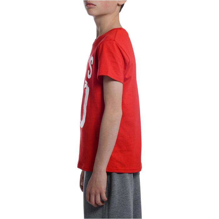 T-Shirt manches courtes 100 Gym garçon imprimé - 1103179