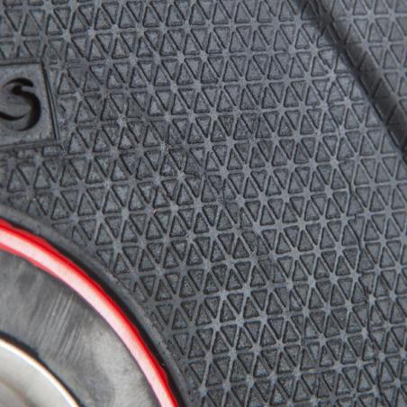 Rubber Weight Disc 28 mm - 2.5 kg