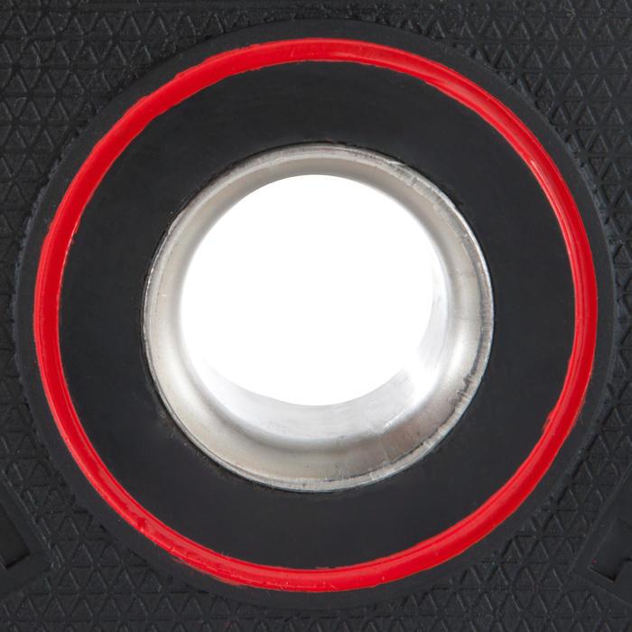 Hantelscheibe gummiert 5kg 28mm