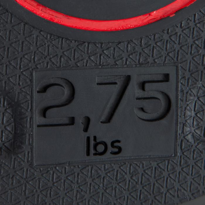 Hantelscheibe gummiert 28 mm 1,25 kg