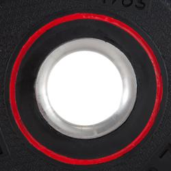 Hantelscheibe gummiert 28mm 1,25kg