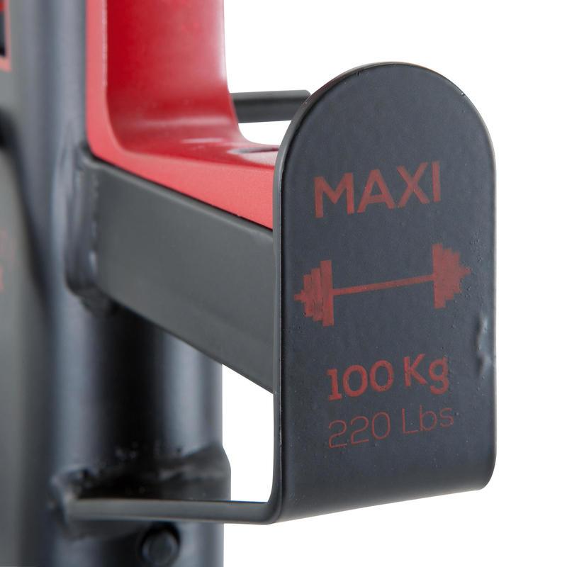 Repose barre musculation Rack 100