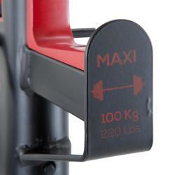 PRODUCTO REACONDICIONADO Rack Musculación Domyos 100 Adaptable