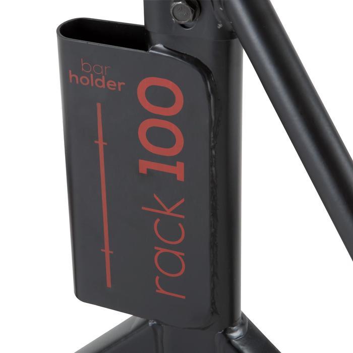 Repose barre musculation Rack 100 - 1103555