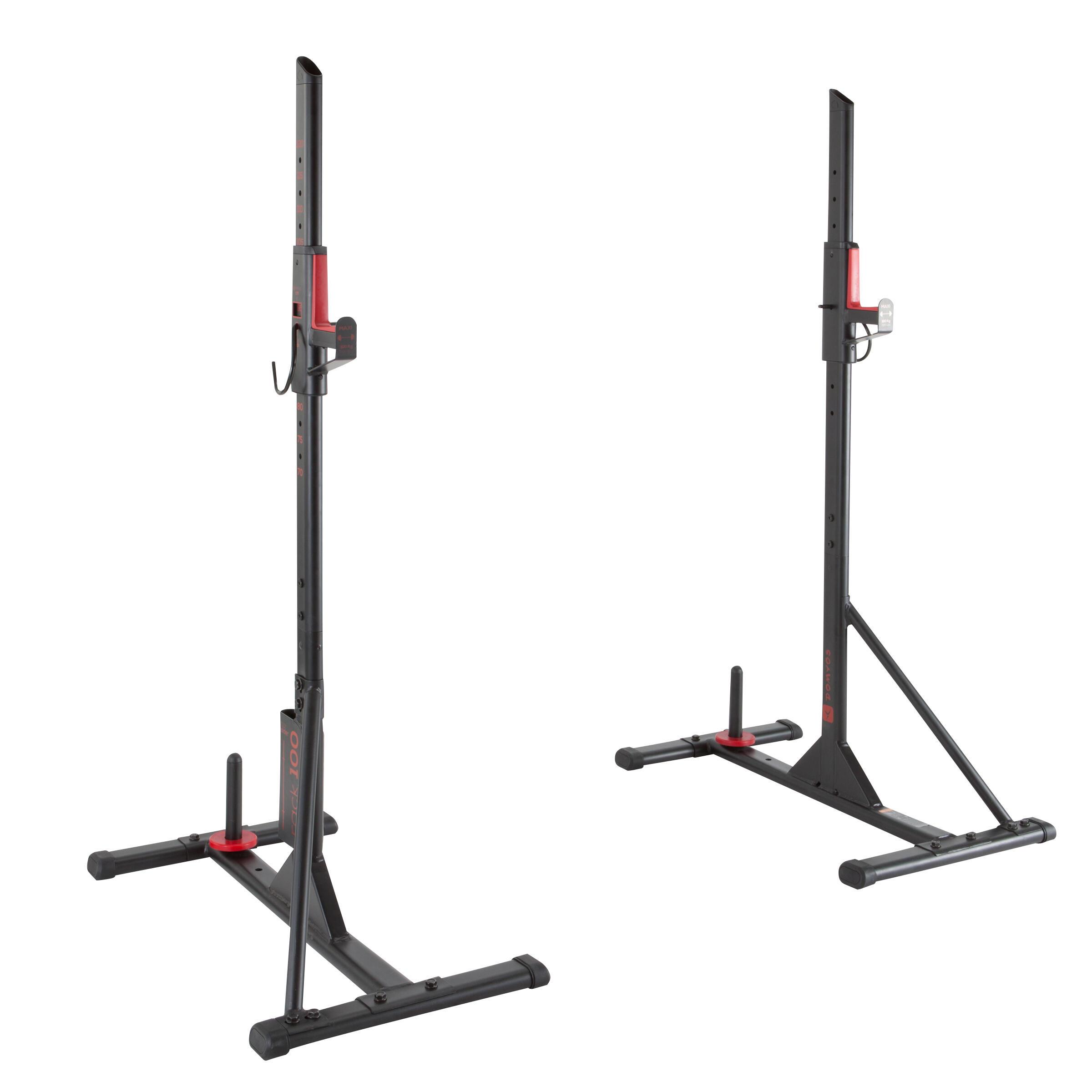 100 Weight Training Bar Rack