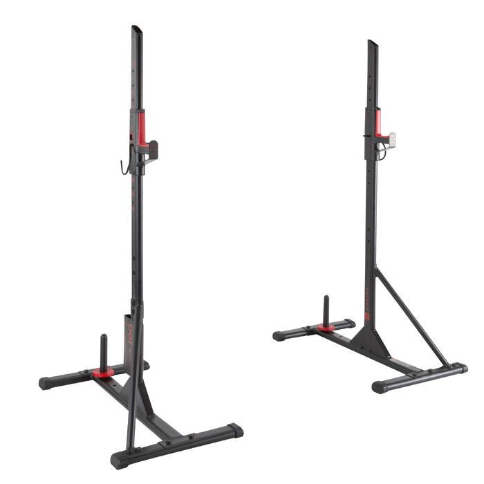 Repose barre musculation Rack 100 - 1103559