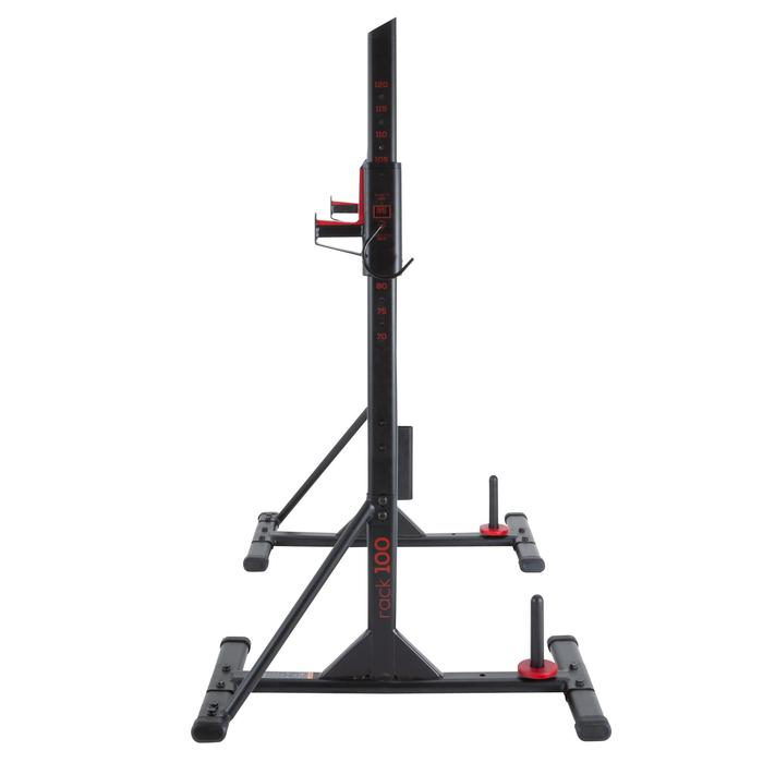Repose barre musculation Rack 100 - 1103560