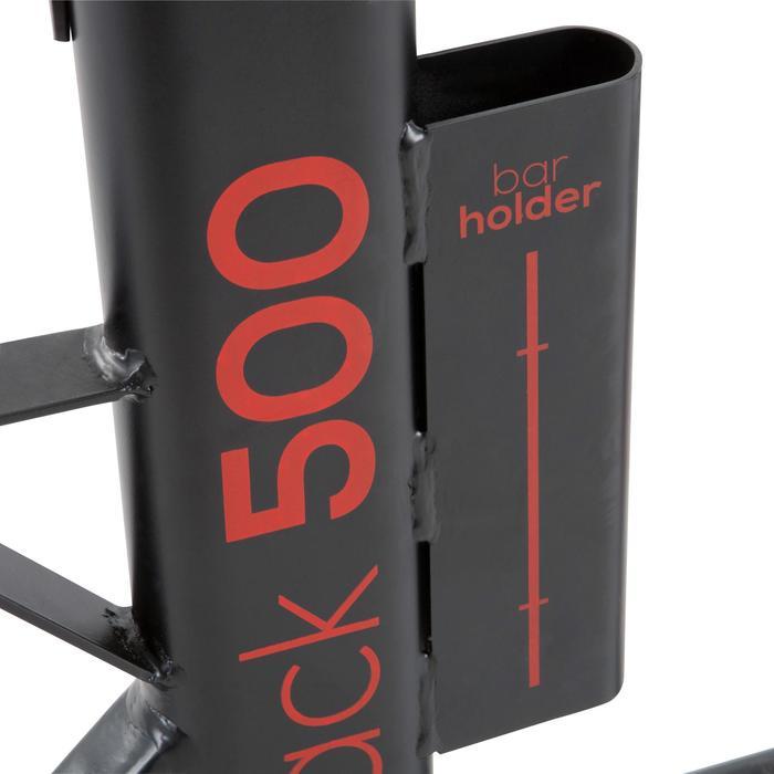 Hantelstangenablage Rack500 Squat Klimmzug