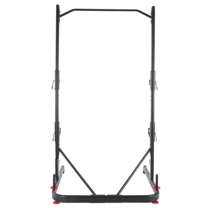 Producto Reacondicionado Rack Musculación Domyos 500 Squat Traction