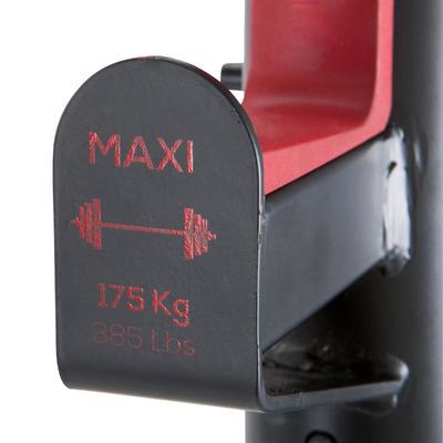 Rack de musculation squat traction