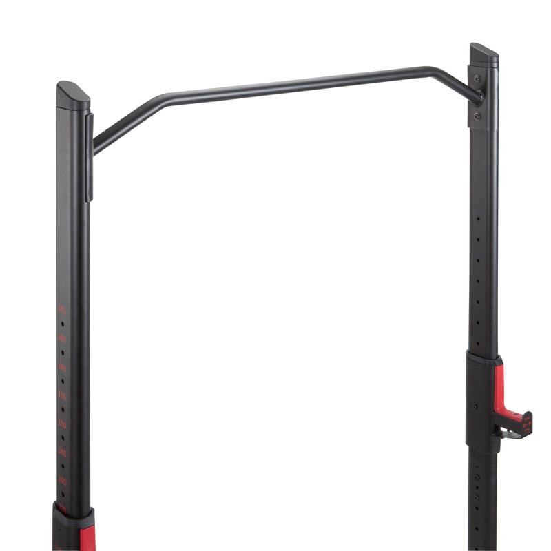 Weight Training Rack 500 - Black with Accent of Red