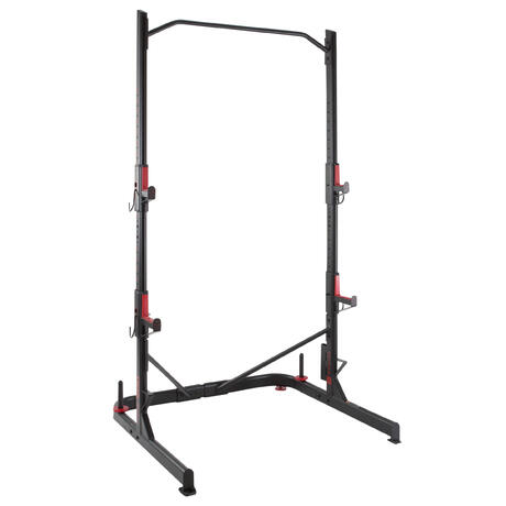 Rack De Musculation Squat Traction Domyos By Decathlon