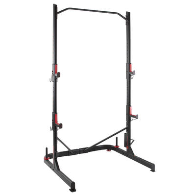 Rack de musculation squat traction