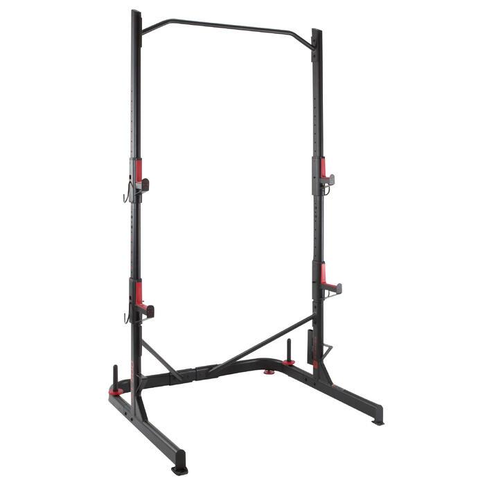 Rack de musculación squat traction