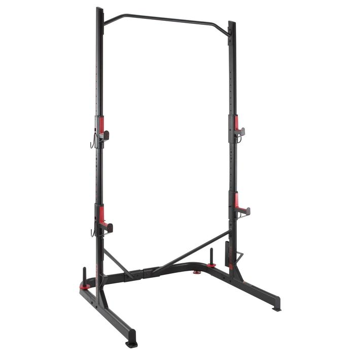 Weight Training Rack Squats Chin-ups