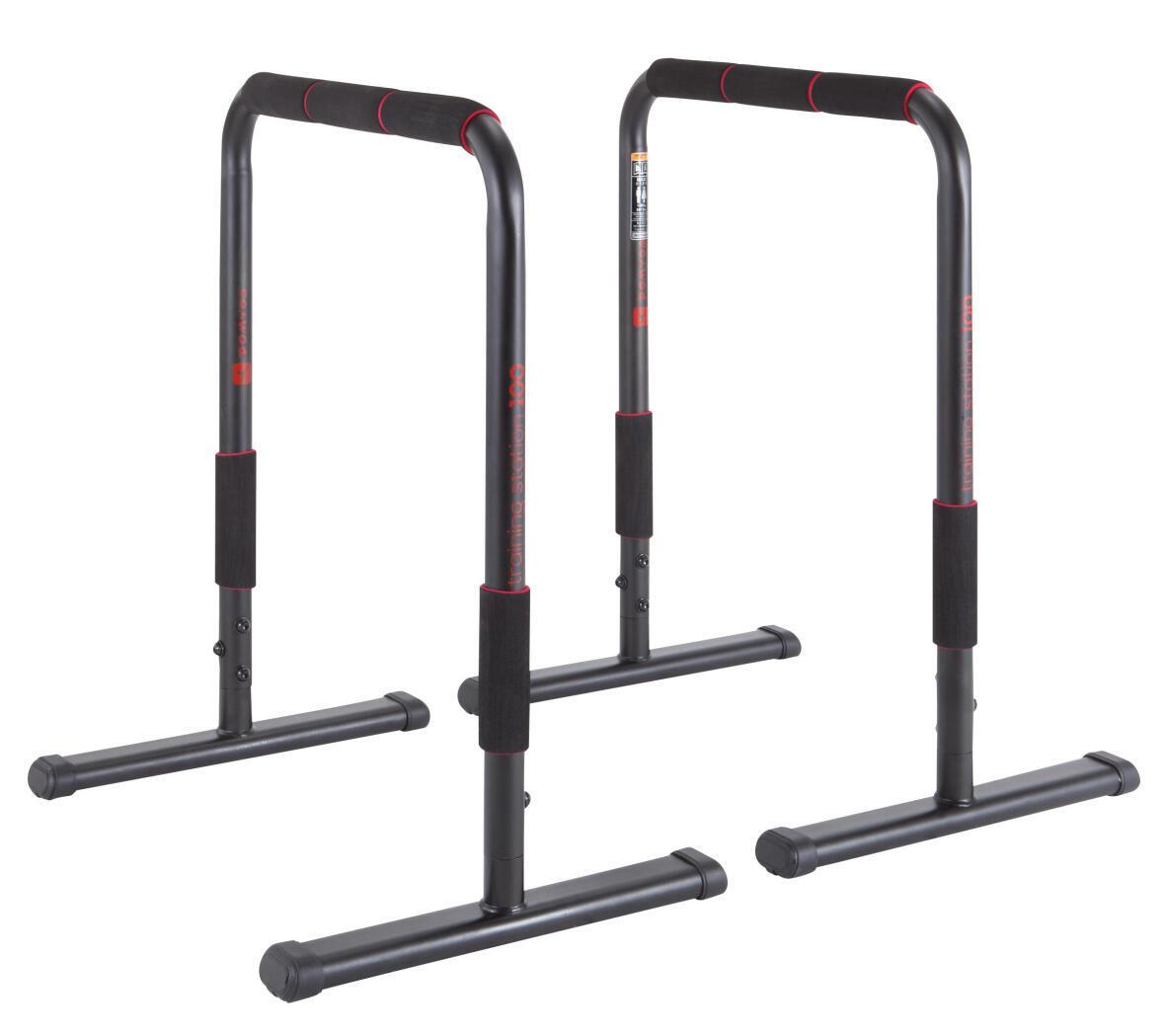 Cross Training | Dip Bar Exercises: Upper body
