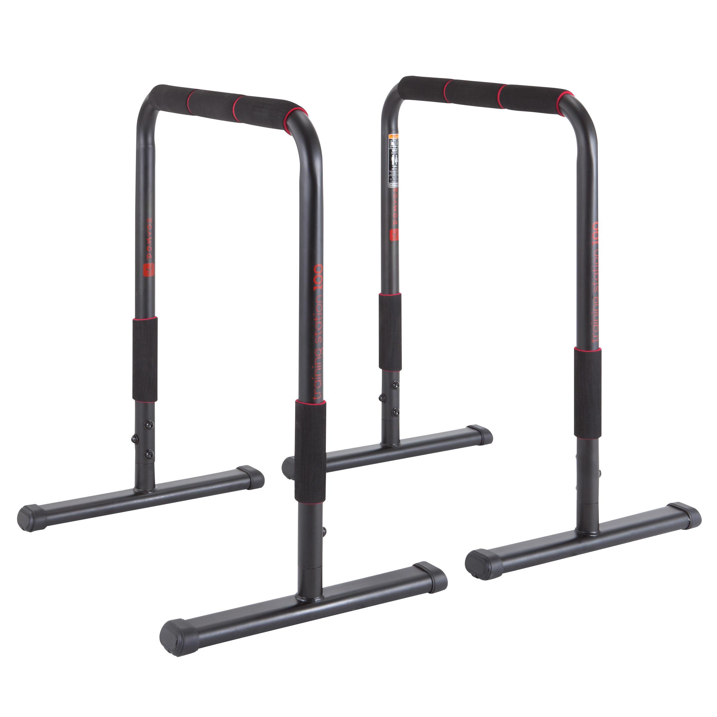 Barres parallèles station d'entraînement 100
