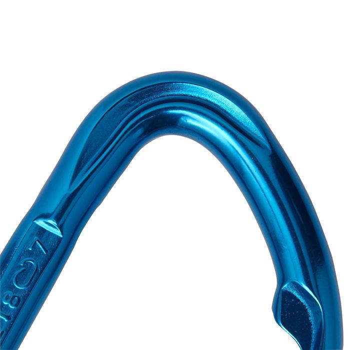 Rocky thread quickdraw for climbing and mountaineering 11 cm.