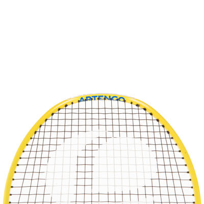 BR800 100% Graphite Junior Badminton Racket - Yellow