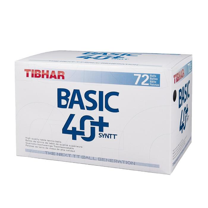 72 BALLES 40+BASIC PLASTIQUES - 110487