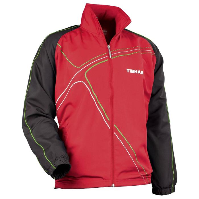 SURVETEMENT DE TENNIS DE TABLE VESTE TIBHAR METRO ROUGE - 110488