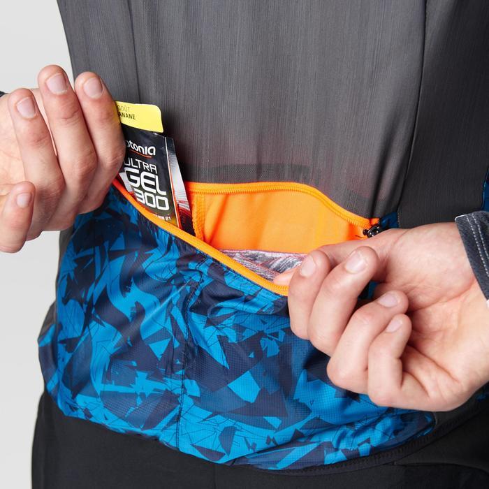 Veste sans manches coupe-vent trail running noir graph homme - 1105054
