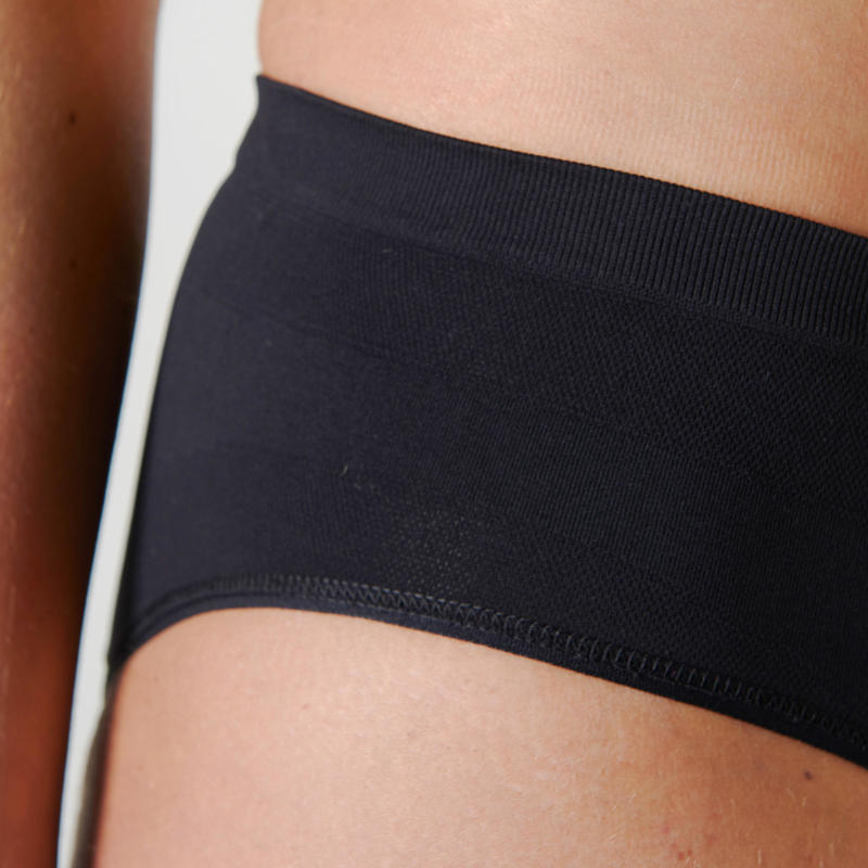 WOMEN'S RUNNING BRIEFS BLACK