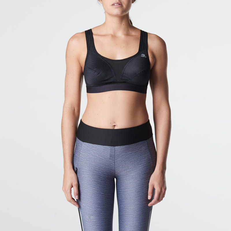 CLASSIC RUNNING SPORTS BRA BLACK