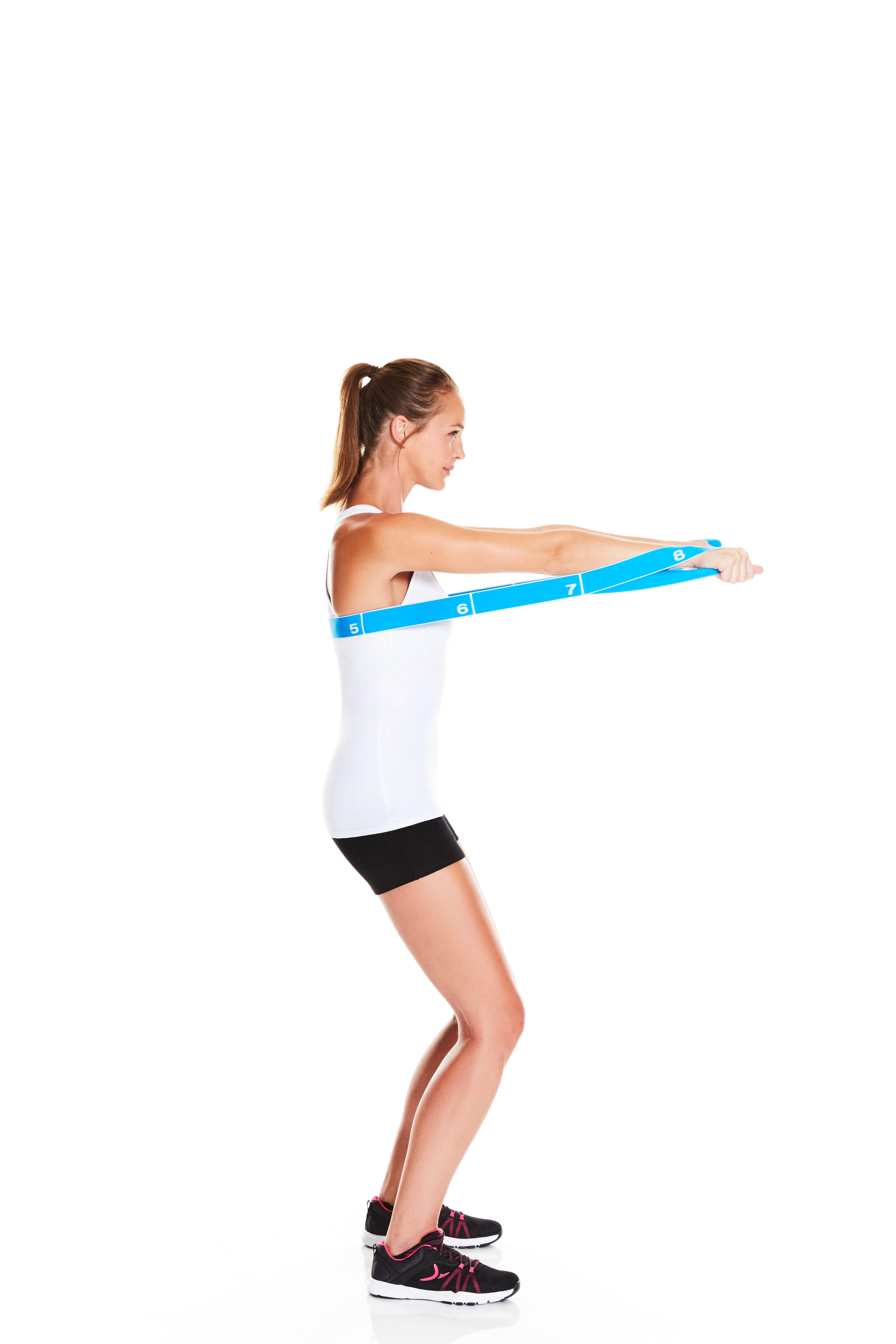 Pilates Toning Elastic Strap Level Medium