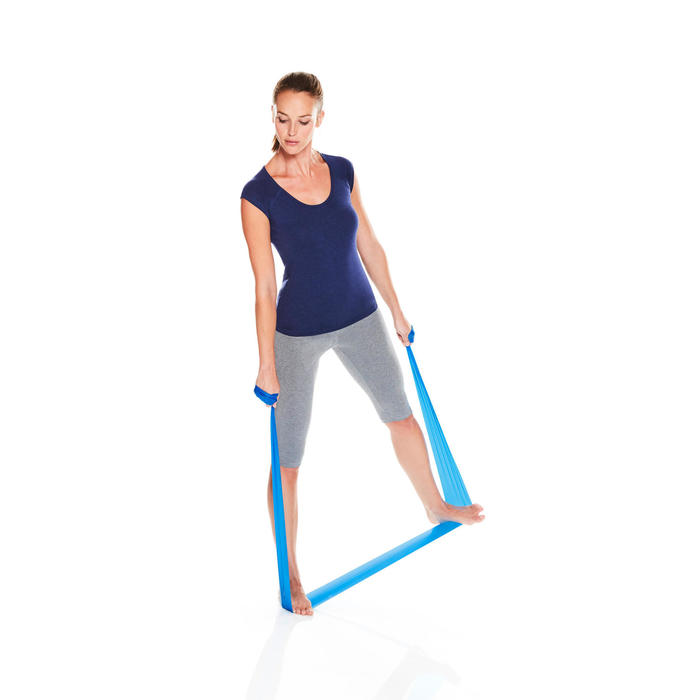 Weerstandsband voor figuurtraining of gym medium - 1105298