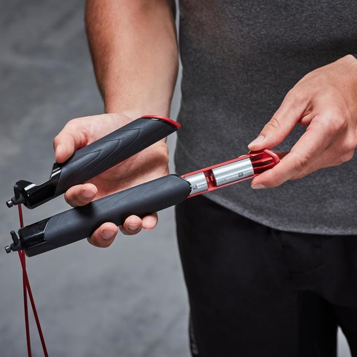 Lastres para comba de saltar Cardio Fitness Domyos Lote 4 unidades 75 gr.