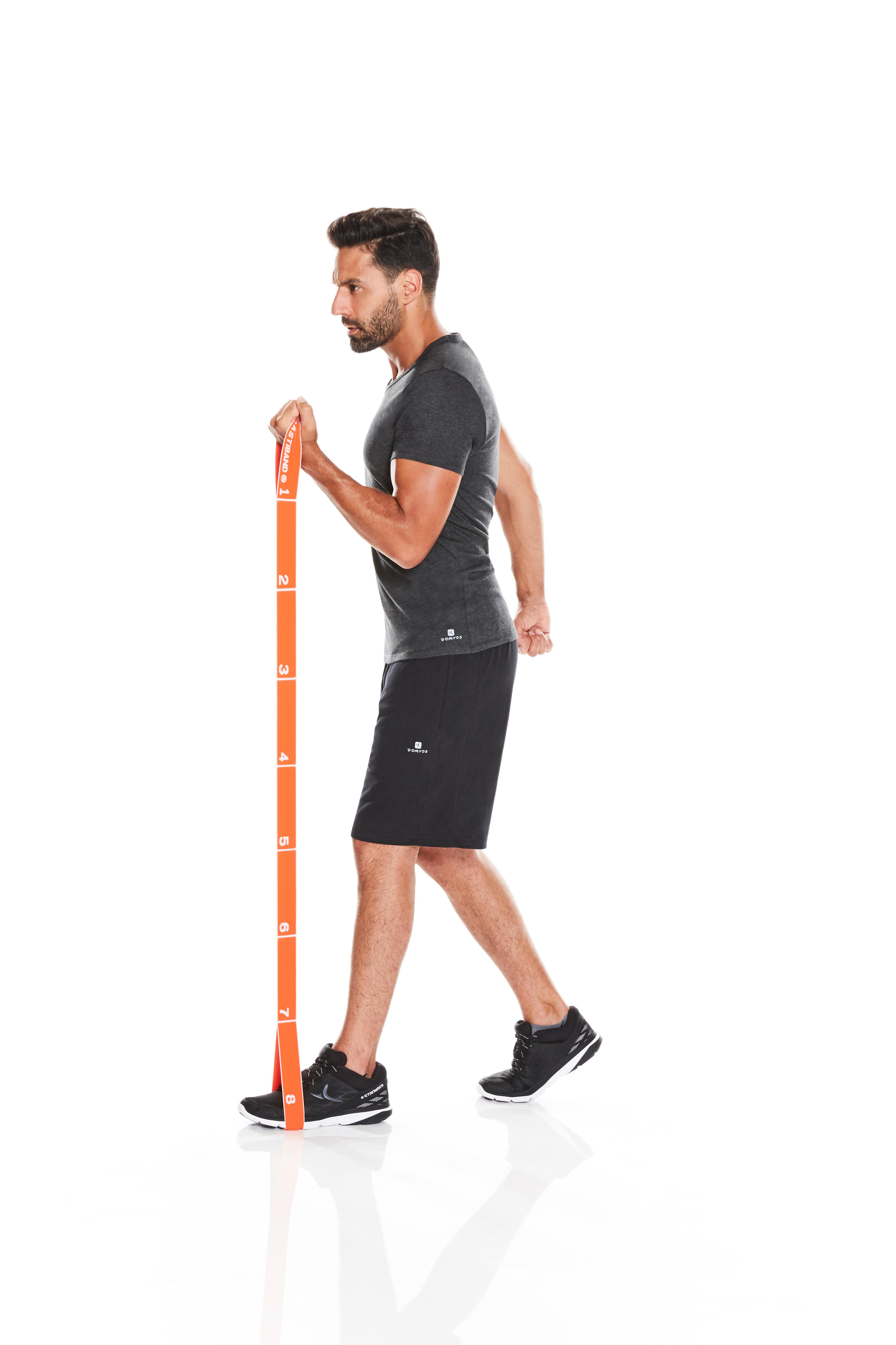 Pilates Toning Elastic Strap Level Hard