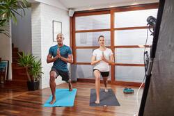 Polyester short Yoga+ voor heren - 1105381